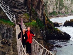 Rope Bridge with Friend